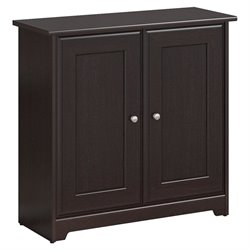 Bush Cabot 2 Door Storage Cabinet in Espresso Oak