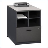 Bush Series A Storage Cabinet in Slate Grey