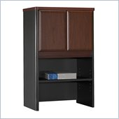 Bush Series A Storage Hutch in Hansen Cherry