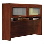 Bush Tuxedo Hansen Cherry Hutch for L-Desk