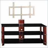Bush Segments 50 Inch Wood TV Stand and Audio Rack Set