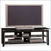 Bush Midnight Mist 60 Inch Wood TV Stand and Audio Rack Set