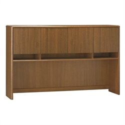 Bush Northfield Hutch for Credenza in Dakota Oak