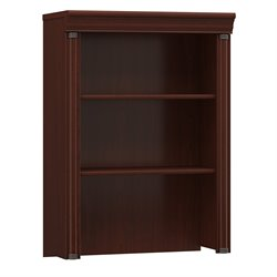 Bush Birmingham Executive Hutch for Lateral File in Cherry