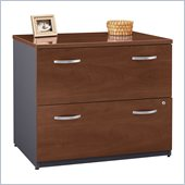 Bush Series C 2 Drawer Lateral Wood File Cabinet in Hansen Cherry