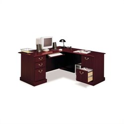 Bush Saratoga L-Shape and Lateral File Set in Cherry