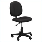 Bush Attain Collection Fabric Task Chair in Black