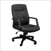 Bush Activate Leatherette Managers Chair in Black