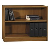 Bush Universal 30H 2 Shelf Wood Bookcase in Royal Oak