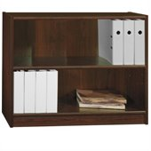 Bush Universal 30H 2 Shelf Wood Bookcase in Vogue Cherry
