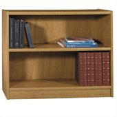 Bush Universal 30H 2 Shelf Wood Bookcase in Snow Maple