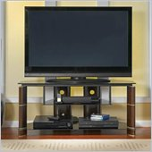 Bush Segments Wood TV Stand in Espresso
