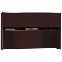 Bush Northfield Hutch for Credenza in Harvest Cherry