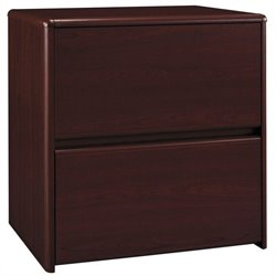 Bush Northfield 2 Drawer Lateral File Cabinet in Cherry