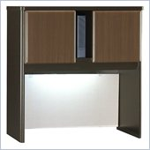 Bush Series A Sienna Walnut/Bronze 36 inch Hutch