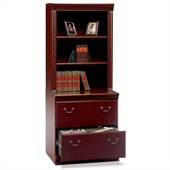 Bush Birmingham Lateral File with Hutch Set
