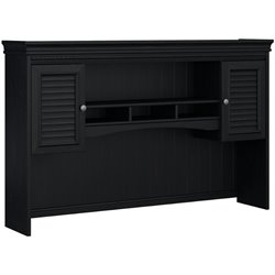 Bush Fairview Black Hutch for L-Desk