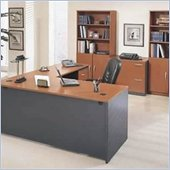 Bush Series C Corsa L-Shape Separated Wood Office Desk Set