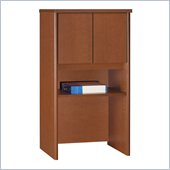 Bush Series C 24 Inch Strorage Hutch in Auburn