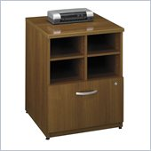 Bush Series C 24W Storage Unit in Warm Oak
