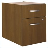 Bush Series C 3/4 File Pedestal in Warm Oak (Assembled) 