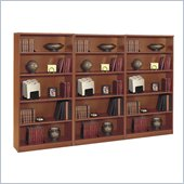 Bush Series C 5 Shelf Wall Bookcase in Auburn Maple