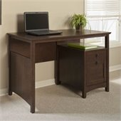 Bush Buena Vista Desk with File Drawer in Madison Cherry Finish