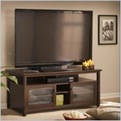 Bush Buena Vista TV Stand in Madison Cherry Finish