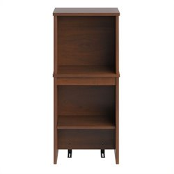 Bush Envoy 36 Tall Narrow Hutch in Hansen Cherry Finish