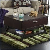 Bush Canted Cocktail/Coffee Table and Storage in Macchiata