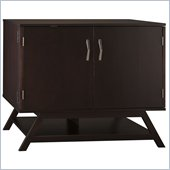 Bush Canted Compact 36 Office/Storage Cabinet in Macchiata Coffee