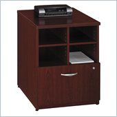 Bush Series C 24W Storage Unit in Mahogany Finish