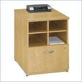 Bush Series C 24W Storage Unit in Light Oak Finish