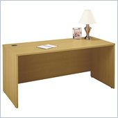 Bush Series C 66W Desk in Light Oak Finish