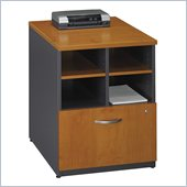 Bush Series C 24W Storage Unit in Natural Cherry Finish