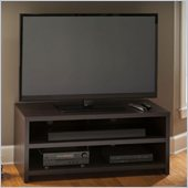 Bush Kemp Flat Panel TV Stand in Dark Macchiata