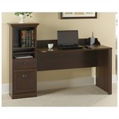 Bush Barton 48 Computer Workstation Desk in Bing Cherry