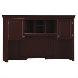 Bush Bennington 66W Credenza Hutch in Harvest Cherry