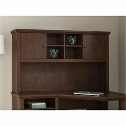 Bush Yorktown 60W Hutch in Antique Cherry