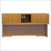 Bush Quantum Modern Cherry 72 Inch Hutch