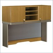 Bush Quantum Modern Cherry 47 Inch Tall Hutch