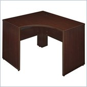 Bush Quantum 47 Right Corner Wood Credenza in Harvest Cherry