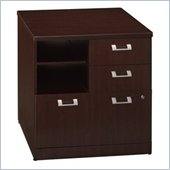 Bush Quantum 30 Lateral Wood File Storage Cabinet in Harvest Cherry
