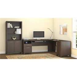 Achieve 2 Piece L Shape Desk Office Set 2