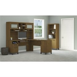 Achieve 3 Piece L Shape Desk Office Set 2