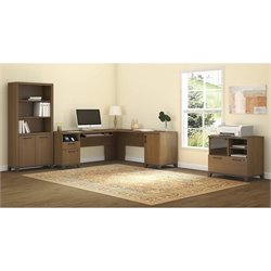Achieve 3 Piece L Shape Desk Office Set 3