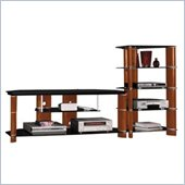 Bush Segments  58 TV Stand and Audio Rack