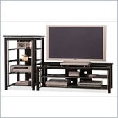 Bush Midnight Mist 60 Flat Panel TV Stand and Audio Rack