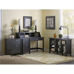 Bush Broadview 3 Piece Office Set in Espresso Oak