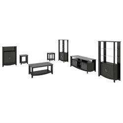 Bush Aero 7 Piece Entertainment Set in Classic Black